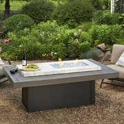 The Outdoor GreatRoom Company Boardwalk Propane Fire Pit Table