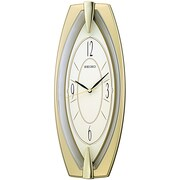 Seiko – Horloge murale QXA342G, 17 7/8 x 7 1/4 x 2 po, doré