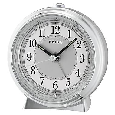 Seiko – Réveil QHE132S, 4 x 3 7/8 x 2 (po), argenté