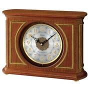 Seiko – Horloge de cheminée en bois QXW219B, 9 7/8 x 14 x 4 7/8 (po), brun
