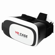 Supersonic® SV-839VR Black/White VR Smartphone Headset with 3D Video Game Glasses for iOS/Android Phones