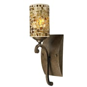 QSPL Knighton 1-Light Mosaic Wall Sconce