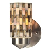 QSPL Kalmia 1-Light Mosaic Wall Sconce