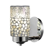 QSPL Alps 1-Light Mosaic Wall Sconce