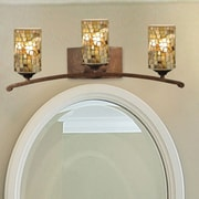 QSPL Knighton 3-Light Mosaic Wall Sconce