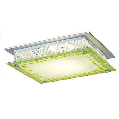 QSPL Lennon 1-Light Flush Mount