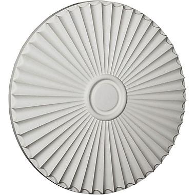 Ekena Millwork Shakuras 29.5'' H x 29.5'' W x 2'' D Ceiling Medallion