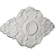 Ekena Millwork Piedmont 26'' H x 37'' W x 1.38'' D Ceiling Medallion