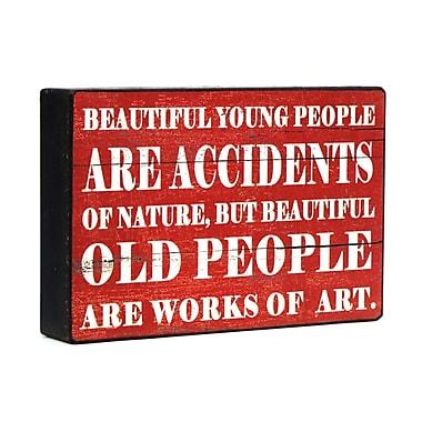 Wilco Home 'Beautiful...' Textual Art Plaque