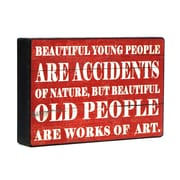 Wilco Home 'Beautiful...' Textual Art Plaque