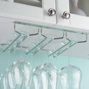 Mind Reader Hanging Wine Glass Rack