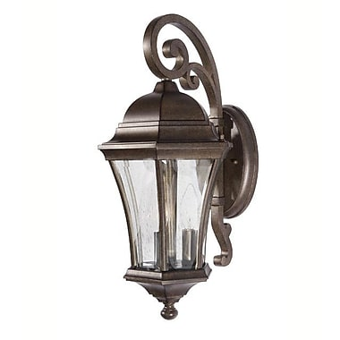 MarianaHome 3-Light Outdoor Wall Lantern