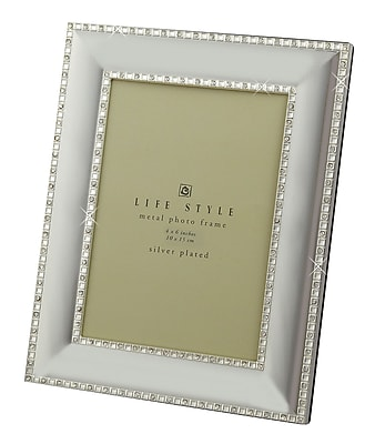 Heim Concept Crystal Border Picture Frame; 4'' x 6'' WYF078279193751