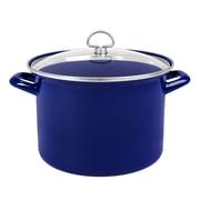 Chantal 8-qt. Stock Pot w/ Lid; Cobalt Blue
