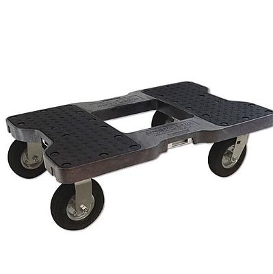 Snap-Loc 1500 lb. Capacity Furniture Dolly; Black