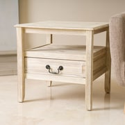 Home Loft Concepts Rodgers End Table; Brushed Morning Mist