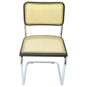 Breuer Chair Company Cesca Side Chair; Black