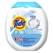 Tide Liquid Pods, Free and Gentle, 81/Pack
