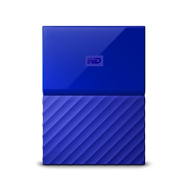 WD - Disque dur portatif My Passport, 2 To