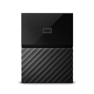 WD My Passport For Mac 4 TB Portable Hard Drive, Black (WDBP6A0040BBK-WESN)