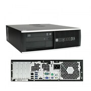 HP - PC de table EliteDesk 8300 SFF remis à neuf, 3,4 GHz Intel Core i7-3770, SSD 240 Go, 16 Go DDR3, Windows 10 Pro