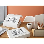 Avery Inkjet Internet Shipping Labels with TrueBlock, White, 50 Labels Per Pack (08126)