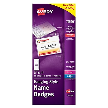 Name Tags | Name Badges & Id Badges | Staples®