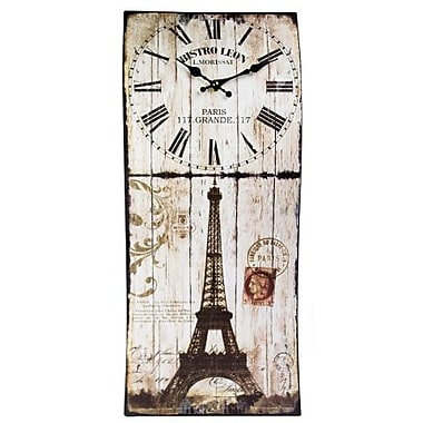 DecorFreak Eiffel Tower Clock (DCFRK049)