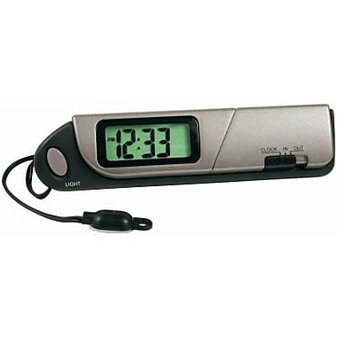 Unique Accessories 11058 Indoor And Outdoor Digital Thermometer & Clock (TRVAL46485)