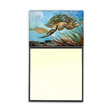 Carolines Treasures Loggerhead Sea Turtle Sticky Note Holder (CRLT69237)