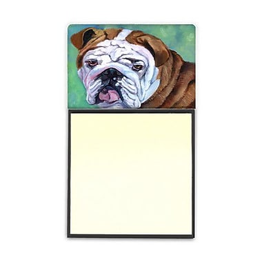 Carolines Treasures Admiral The English Bulldog Sticky Note Holder (CRLT80564)
