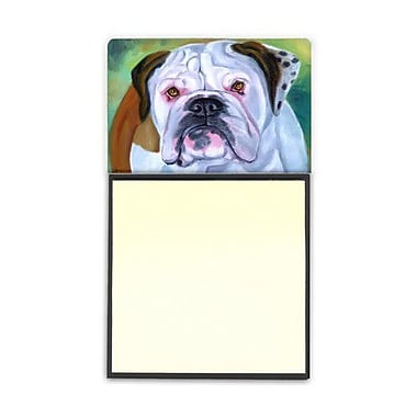 Carolines Treasures Miss English Bulldog Sticky Note Holder (CRLT80565)
