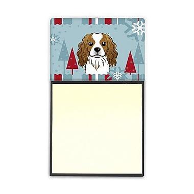 Carolines Treasures Winter Holiday Cavalier Spaniel Sticky Note Holder (CRLT85010)