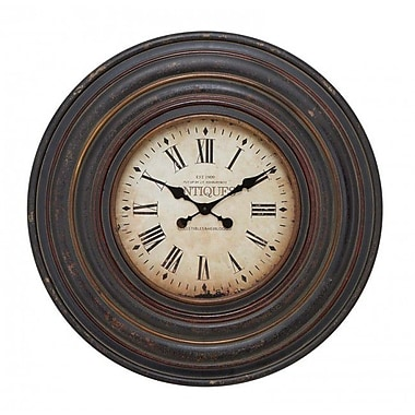 A Nation Wood Wall Clock, 31 in. (UMET723)