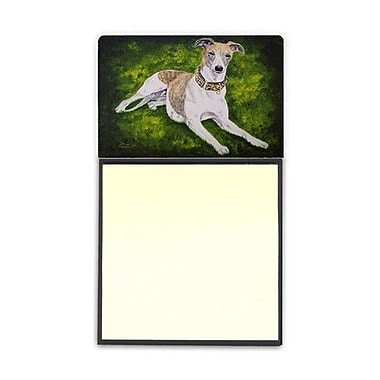 Carolines Treasures Isabella Greyhound Sticky Note Holder (CRLT87654)