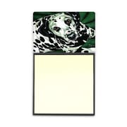 Carolines Treasures  Emerald Beauty Dalmatian Sticky Note Holder (CRLT88148)