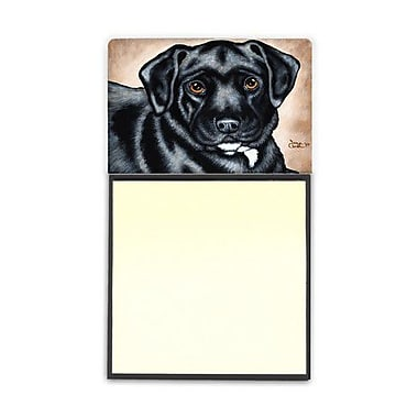 Carolines Treasures Black Bart the Labrador Sticky Note Holder (CRLT88278)