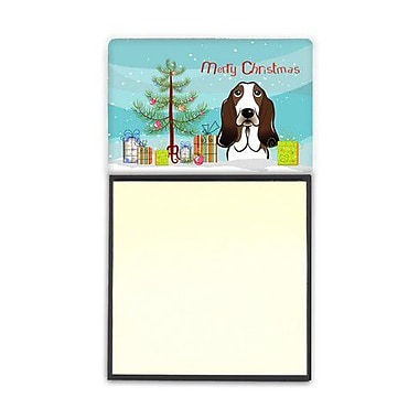 Carolines Treasures Christmas Tree & Basset Hound Sticky Note Holder (CRLT89379)