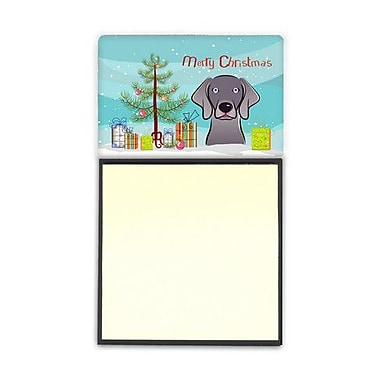 Carolines Treasures Christmas Tree & Weimaraner Sticky Note Holder (CRLT89664)