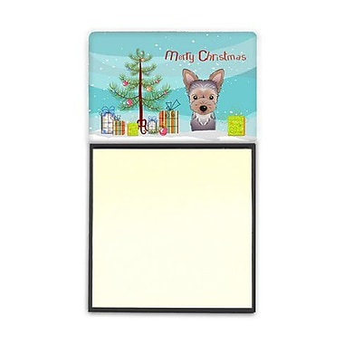 Carolines Treasures Christmas Tree & Yorkie Puppy Sticky Note Holder (CRLT89673)