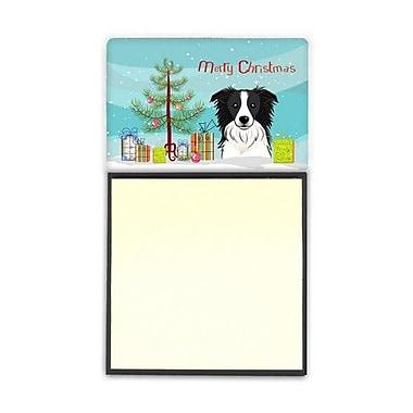 Carolines Treasures Christmas Tree & Border Collie Sticky Note Holder (CRLT89748)