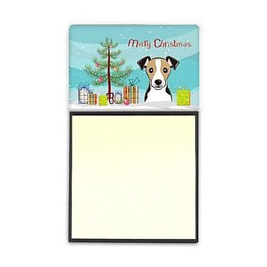 Carolines Treasures Christmas Tree & Jack Russell Terrier Sticky Note Holder (CRLT89938)