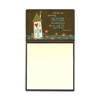 Carolines Treasures As for Me & My House Sticky Note Holder (CRLT92545)