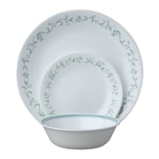 Corelle Livingware Country Cottage 18 Piece Dinnerware Set, Service for 6