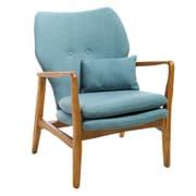 Home Loft Concepts Isabella Accent Arm Chair; Light Blue