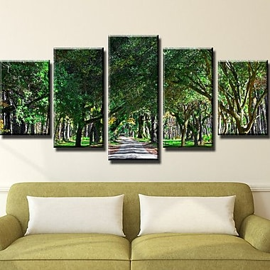 Ready2hangart 'Genesis' by Bruce Bain 5 Piece Photographic Print on Canvas Set