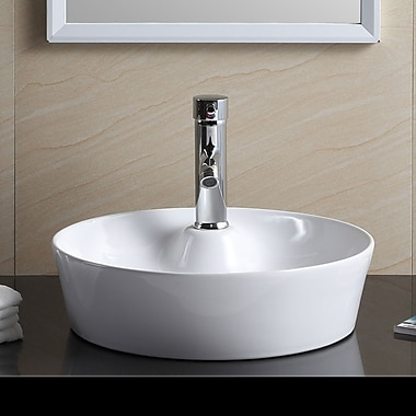 Fine Fixtures Modern Circular Bathroom Sink