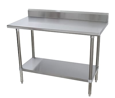 Advance Tabco Heavy Duty Prep Table; 40.5'' H x 48'' W x 24'' D