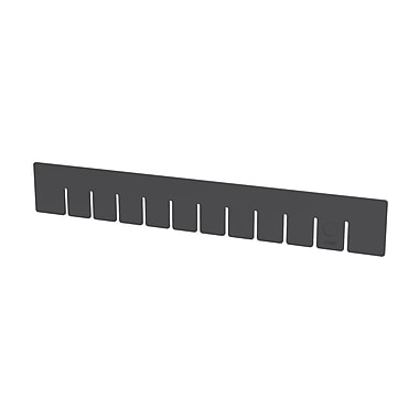Akro Mils Short Divider for Grid Box (Set of 6); 4.5'' H x 7'' W x 0.13'' D