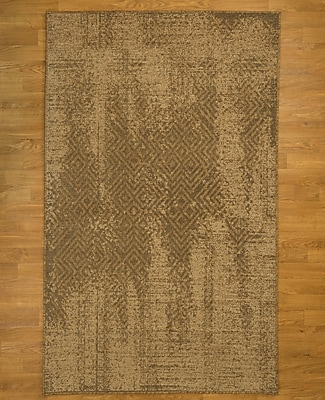 Natural Area Rugs Rome Oriental Hand-Woven Beige Area Rug; Rectangle 5' x 8'